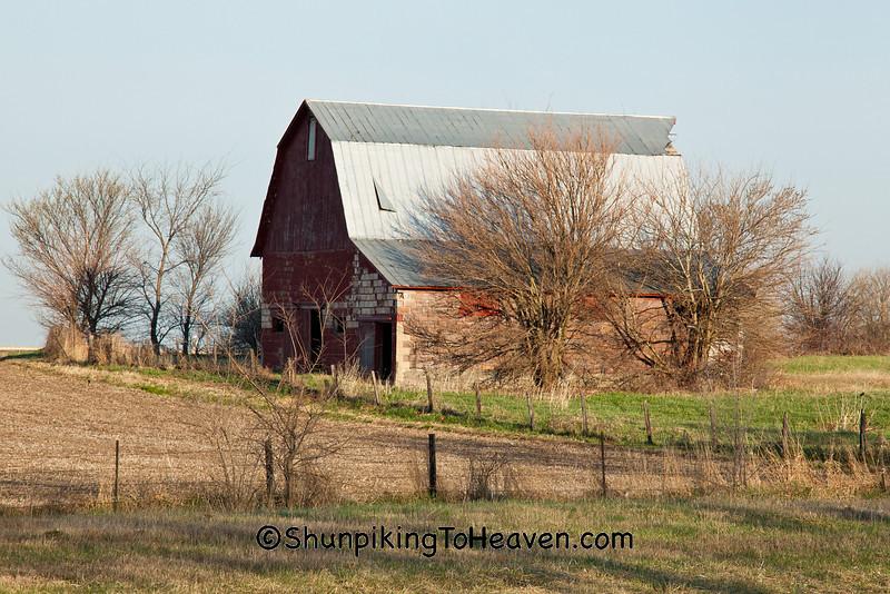 Former Wash House at the Cherry Mine Site, Bureau County, Illinois