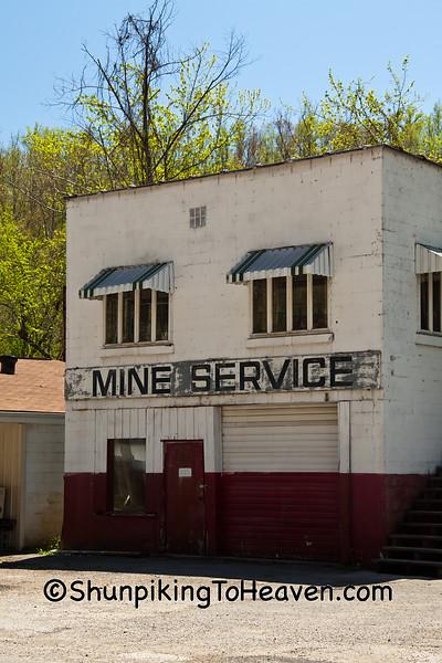 Mine Service Building, Harlan County, Kentucky