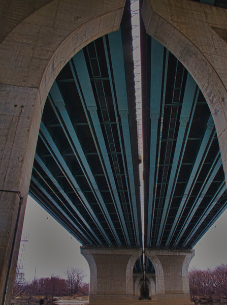 Under the bridge: Hartford, CT