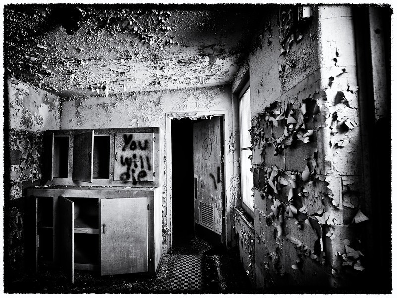 Old Sanatorium in Waterford, CT