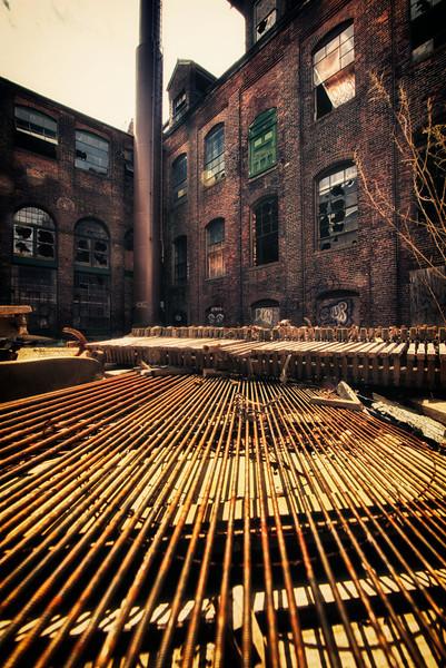Abandoned Factory Building in Bridgeport, CT