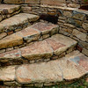 "This staircase is part of the ornamentation of a stone retaining wall constructed at a residence near Durham, NC.    See <a href=""http://www.alechimwich.com/Landscapes/Panoramas/Panoramas/11196391_jYSK4#798929246_CUWNG"">Stone wall panorama</a> for a general description of the wall itself.  Other details of this wall may be seen in this album."