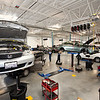 Photography of South Bay Honda Auto Dealership, interior, exterior, showroom, service departments and personel for Special Vendor Section for the San Jose Mercury News
