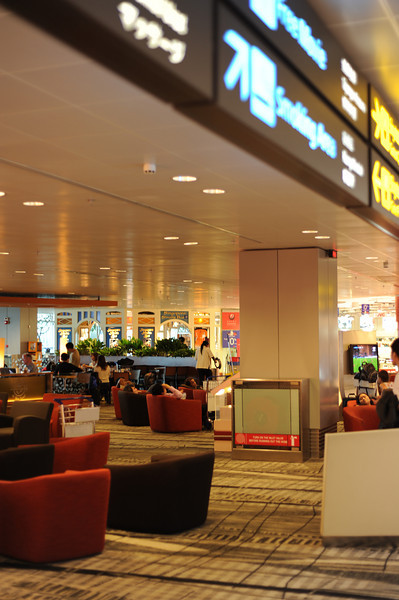 Changi Terminal 3 Departures Lounge, Singapore