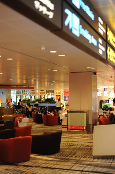 Changi Terminal 3 Departures Lounge, Singapore