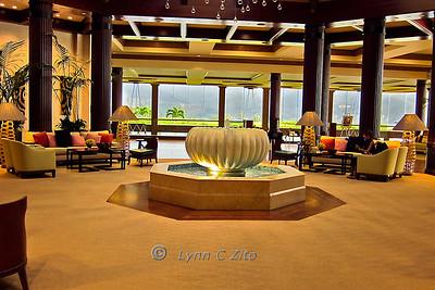March 10, 2011 St Regis Hotel Lobby Princeville, Kauai