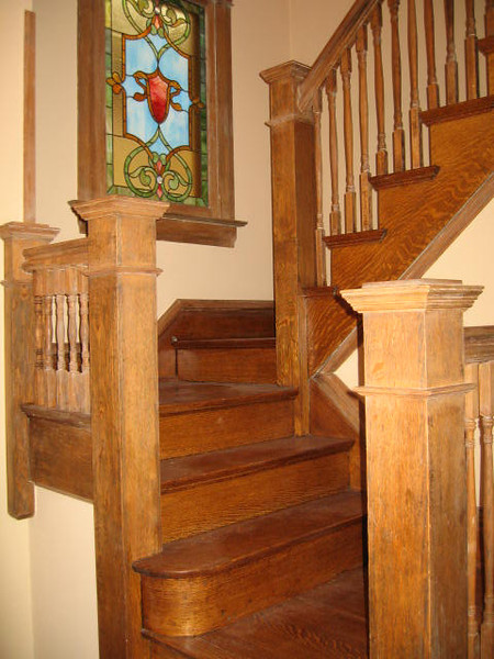 Restoration of 1890's Oak Staircase