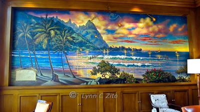 March 10, 2011 St Regis Lobby Bar Mural