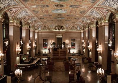 Grand Chicago Hotel Lobby