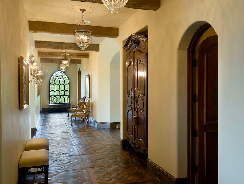 The Great Hall in a New Custom Home