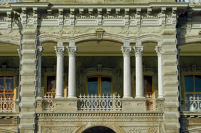 'Iolani PalaceLanai over the main entry