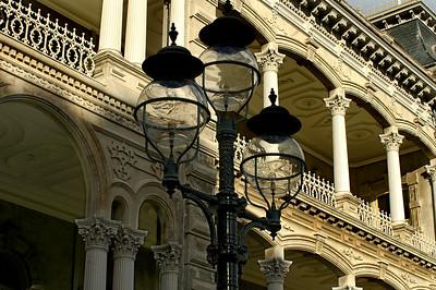 'Iolani Palacelamppost detail