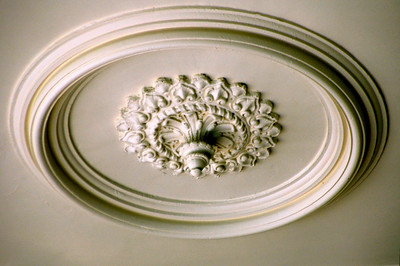 Artistic Detail on the lanai ceiling of 'Iolani Palace