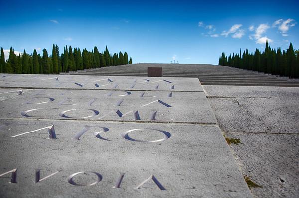 Sacrario di Redipuglia. HDR shot. 20Csociety Italy War Cemeteries trip