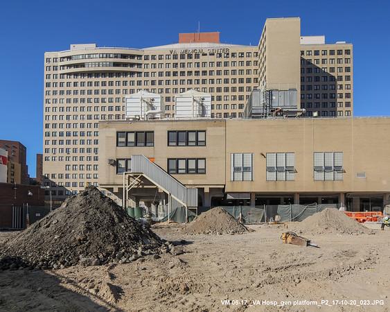 10/20/17 VA Hospital progress