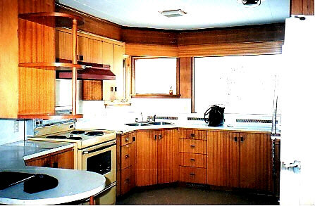 OUR KITCHEN - as it was then