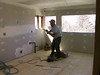 PLASTERING THE WALLS