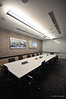 Board Room - Combination of T5 Lights and LED downlights provide pleasant lighting at low lighting power density.