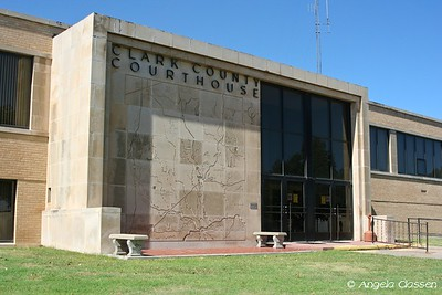 Clark Co. Courthouse - Ashland, Kansas