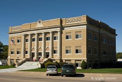 Cheyenne Co. Courthouse - St. Francis, Kansas