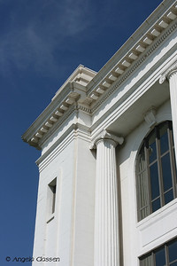 Details of trim work on Barton Co. Courthouse