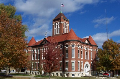 Anderson Co. Courthouse - Garnett, Kansas