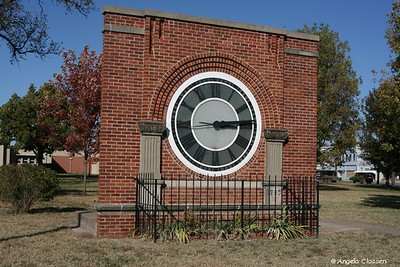 Clock saved from original Allen Co. Courthouse