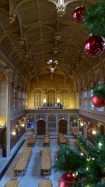 """King's College dining Hall at Christmas<br /> <br /> <br /> <br />  <a href=""""http://www.kings.cam.ac.uk/venue/dining-rooms.html"""">http://www.kings.cam.ac.uk/venue/dining-rooms.html</a>"""