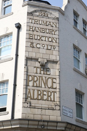 The Prince Albert (on the corner of Kings Cross Road and Acton Street)