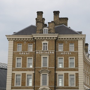 The Great Northern Hotel at Kings Cross.