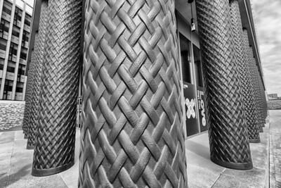 Gridiron Building detail