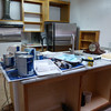 Oh, yeah, use the new counters as a workbench...