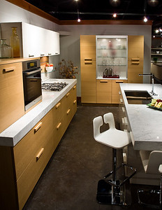 Design Center showroom of Snaidero Kitchens