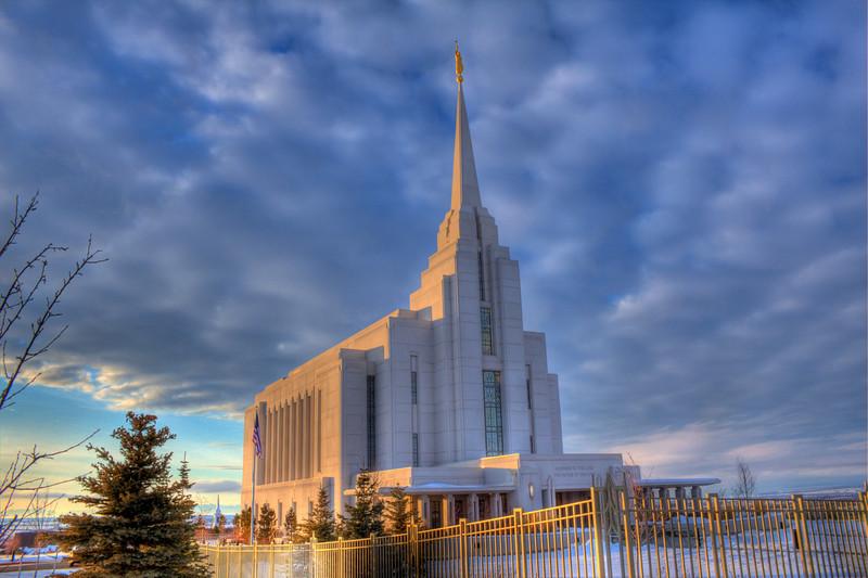 Rexburg Idaho Mormon Temple