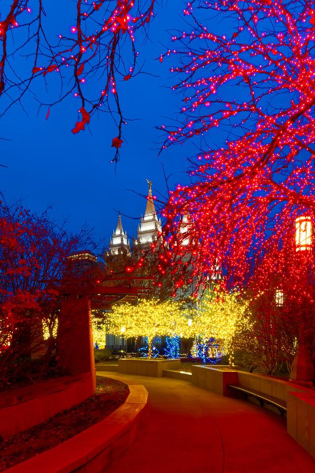 Mormon Salt Lake City temple