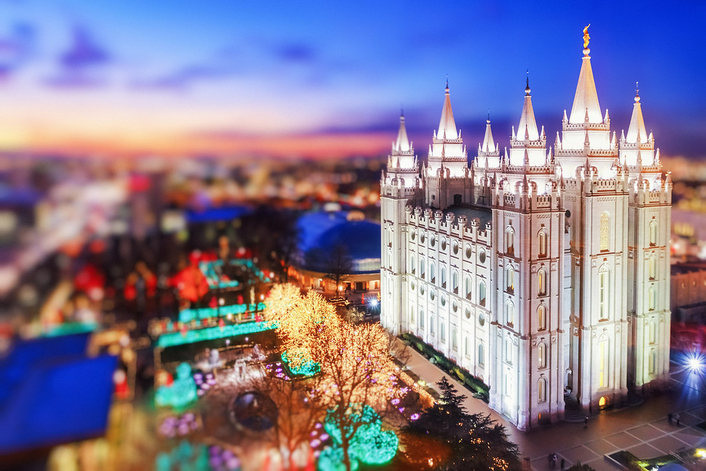 LDS Salt Lake temple