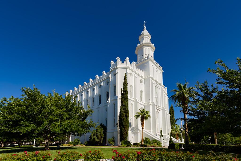 St. George Utah Mormon Temple