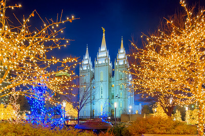 SLC Mormon temple