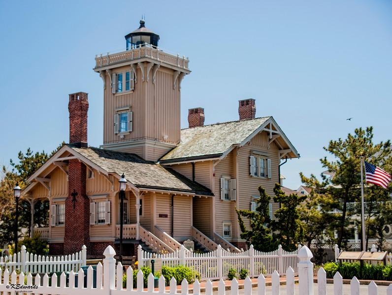 Hereford Inlet Lighthouse, NJ  1874
