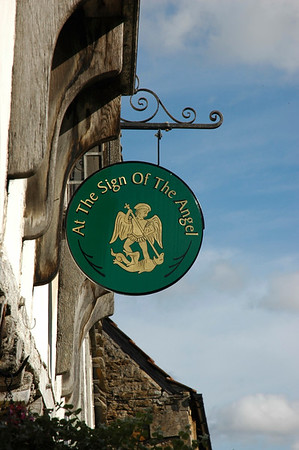 """At The Sign Of The Angel"" - Lacock village, Wiltshire."