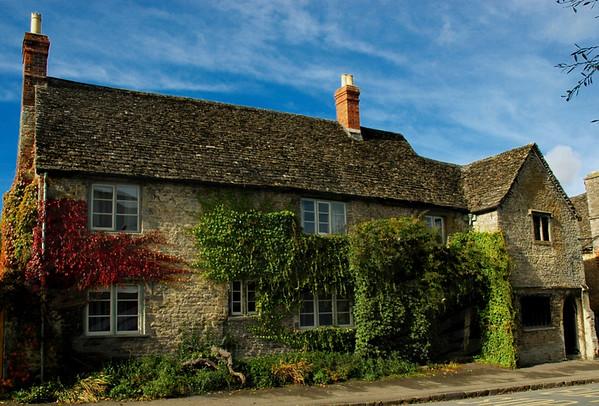 Lacock village , Wiltshire.