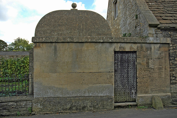 Village lock-up at Lacock, Wiltshire.