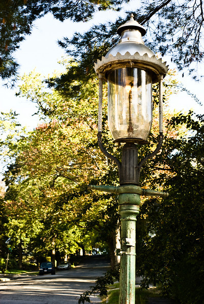 Gaslight Street Light