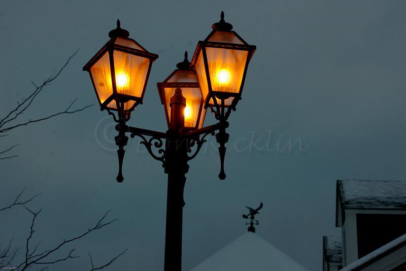 Threesome Lanterns, Christmas Tree Mall, SHrewsbury, MA