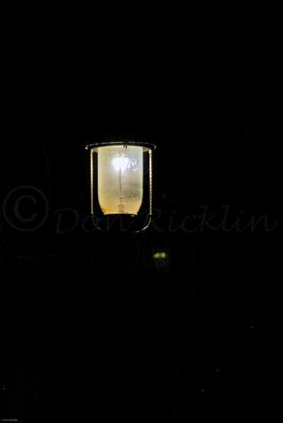 Gaslight at night