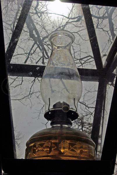 Replica Lantern in front of Longfellow's Wayside Inn, Sudbury, MA