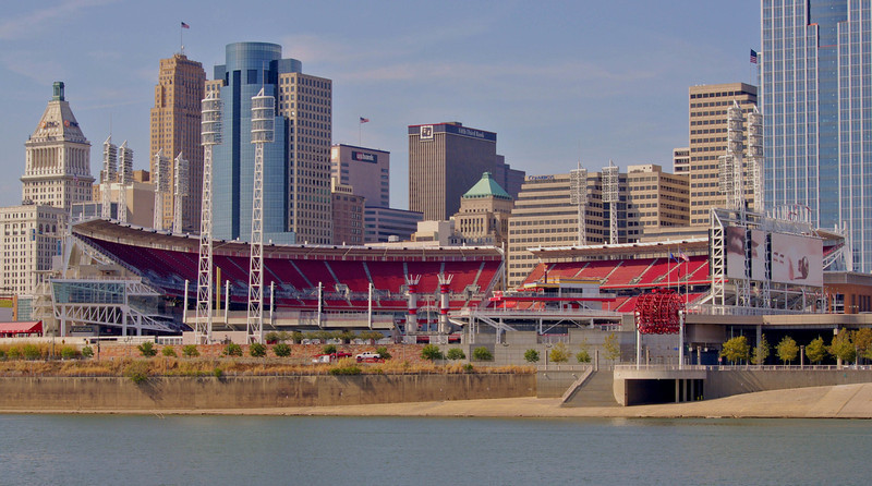 Great American Ball Park --  Cincinnati, Oh