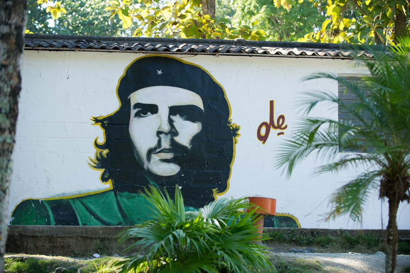 Che's image is all over the place