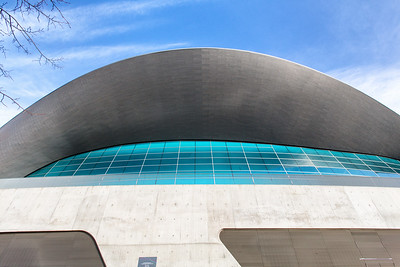 Zaha Hadid's Aquatic Centre
