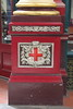 Leadenhall Market<br /> Detail of the base of a pillar<br /> 11 April 2015